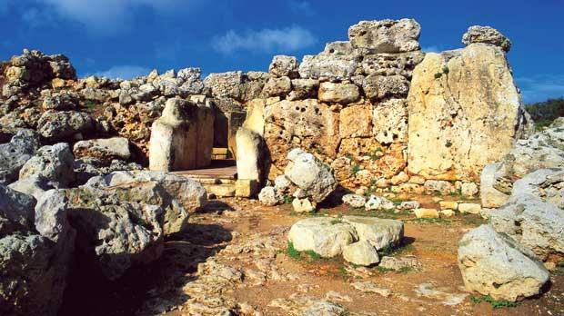 Ġgantija temples in Gozo. Photo: viewingmalta.com