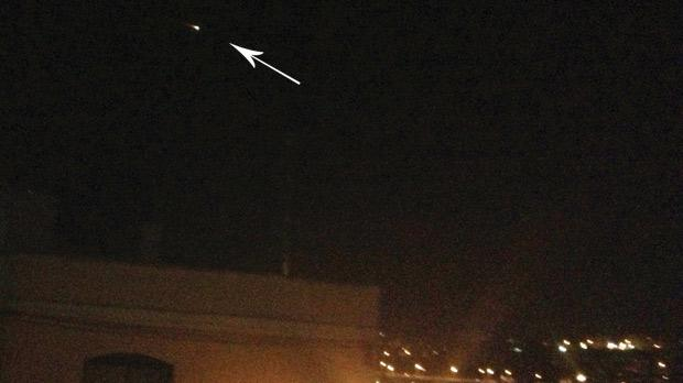 ball of fire may have been a shooting star