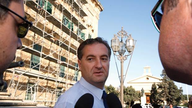 Domenic Azzopardi has denied being late for an Air Malta flight. Photo: Darrin Zammit Lupi