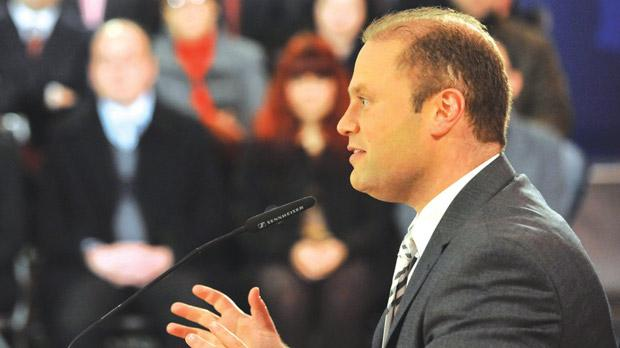 "Labour leader Joseph Muscat: ""Corruption claim is the tip of the iceberg."" Photo: Chris Sant Fournier"