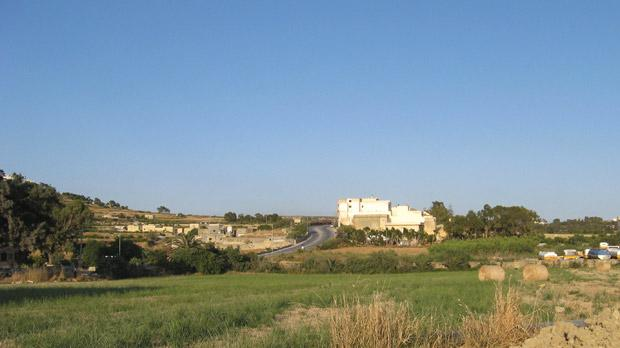 The site of the planned Lidl store in Xewkija.