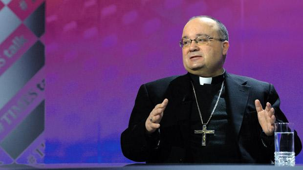 "Archbishop Charles Scicluna took the lead following the Pope's appeal that ""every parish, every religious community, every monastery, every sanctuary of Europe, take in one family""."