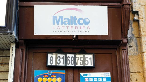 Lotto receivers will receive new terminals. Photo: Darrin Zammit Lupi