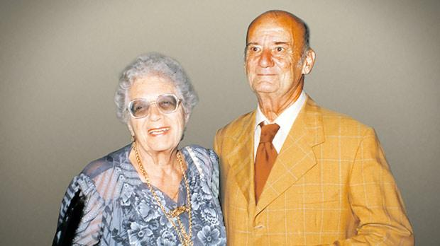 Inez and Henry Casolani.
