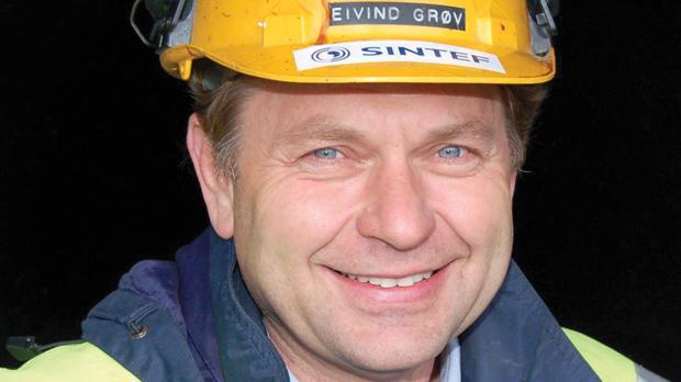 Tunnel expert Eivind Grøv.