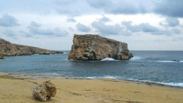 """The lonely sea and the sky,"" wrote poet John Masefield, and ramblers in Malta feel the urge to be a part of both. The Ramblers' Association of Malta has just launched its winter walks programme with over 20 circular rambles among the finest and most exhilerating zones around the Maltese islands, including the area of Dwejra in Gozo and the Fungus Rock, pictured above. Photo: Romano Cassar"