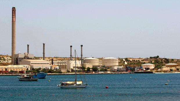 A damaged steam turbine may delay Enemalta's takeover of the Delimara power station. Photo: Darrin Zammit Lupi