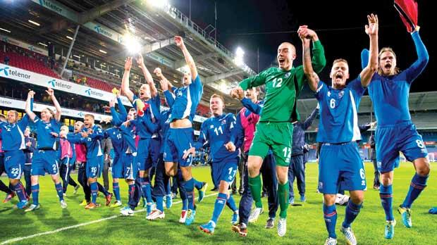 Iceland are one step away from the Brazil World Cup.
