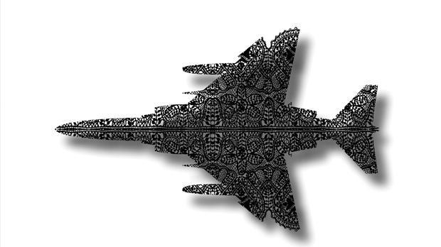 Military Aeroplane by Norbert Francis Attard