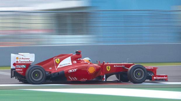 India: title contender Fernando Alonso. Photos: Steve Etherington