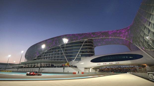 The ultra-modern circuit in Abu Dhabi.