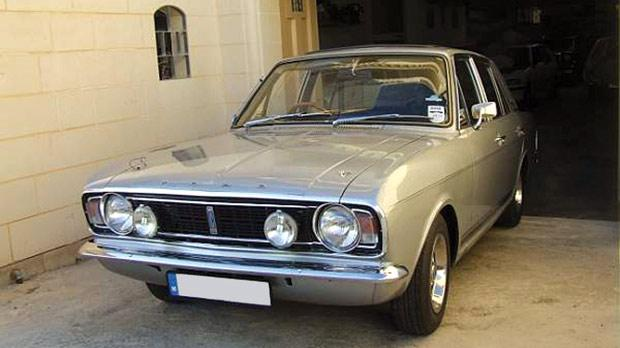 The 1968 Cortina 1600E. Photos: Tony Vassallo Old Motors Club