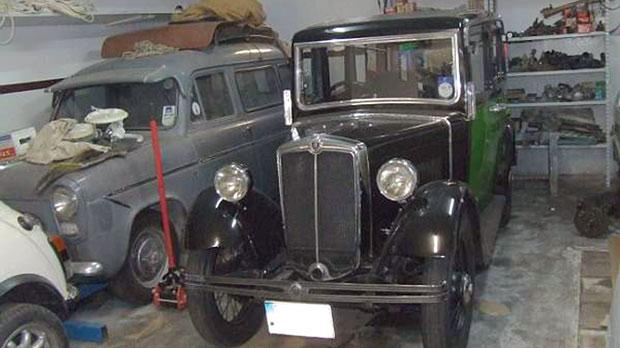 Zammit's wife Marie fell in love with the 1932 Morris Series 8 at first sight.