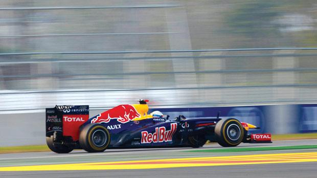 Korea − Sebastian Vettel cruises to a third victory.