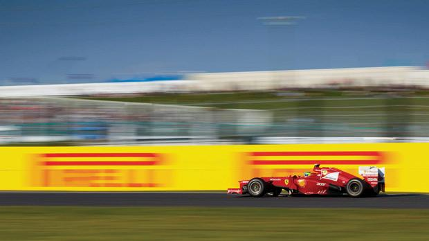 Japan − Felipe Massa's podium finish assures the Brazilian a Ferrari contract renewal. Photos: Steve Etherington.