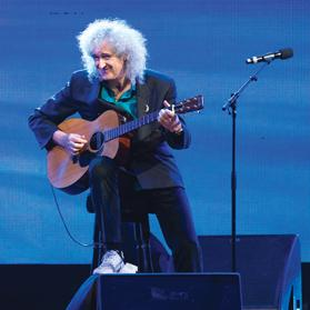 """""""What is it that makes us so thin-skinned about any justified criticism of our country?"""" Brian May who took a shot at hunting."""