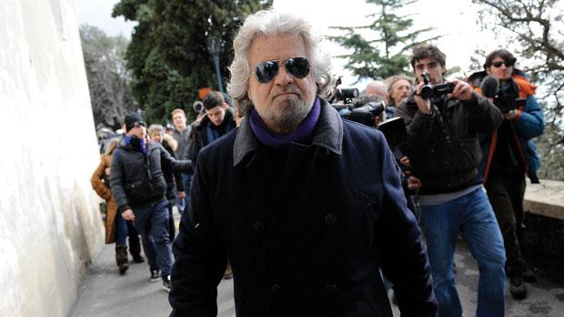 Five Star Movement leader and comedian Beppe Grillo. Photo: Reuters