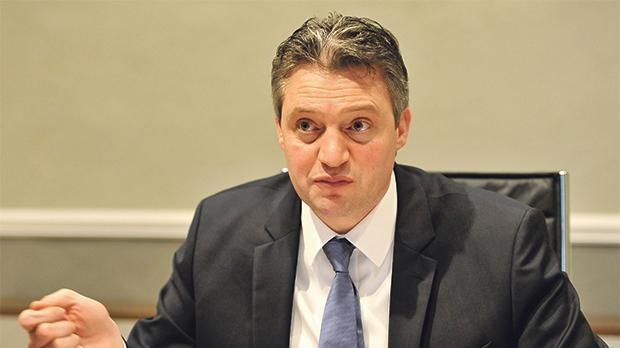 Minister Without Portfolio Konrad Mizzi. Photo:Chris Sant Fournier