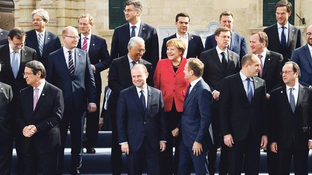 'EU leaders hold our Prime Minister in very high esteem' - Glenn Bedingfield. Photo: Jeremy Wonnacott/DOI