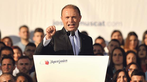 Why is Prime Minister Joseph Muscat trying to delay justice if not suppress it altogether in a number of court cases relating to corruption? Photo: Chris Sant Fournier