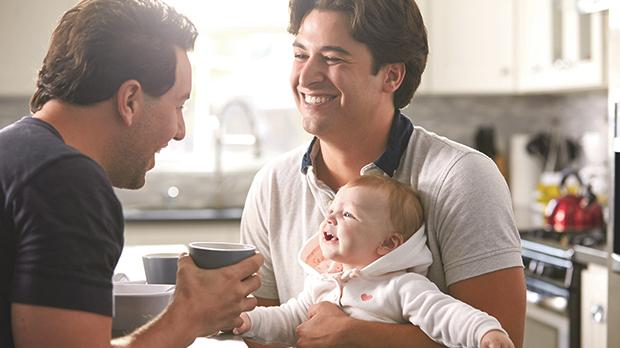Love and care are the more important characteristics of parenting.
