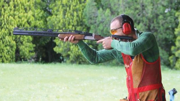 Nathan Lee Xuereb... the new European Double Trap junior champion.