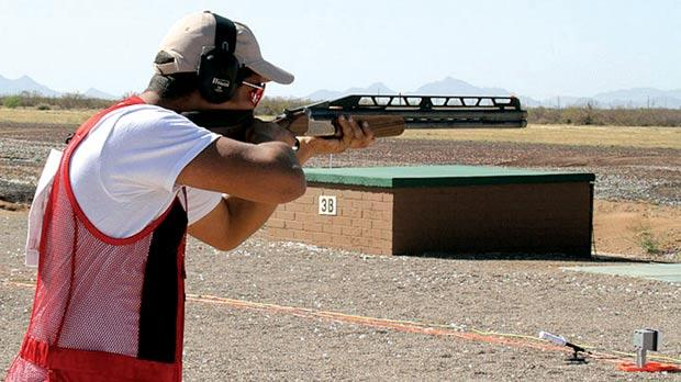 William Chetcuti clinched the silver medal at a World Cup shoot in the US this week.