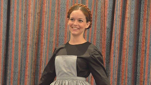 Rachel Fabri stars as Maria in this weekend's production of The Sound of Music.