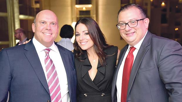 MPG CEO Jeremy Leach, Ira Losco and MPG CFO Nicholas Calleja. Photo: Paul Camilleri