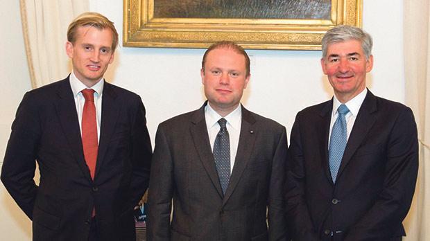 HSBC Europe chairman on two-day Malta visit