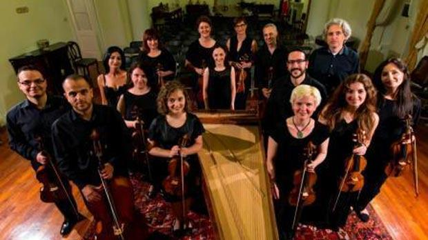 The Valletta International Baroque Ensemble. Photo: Darrin Zammit Lupi