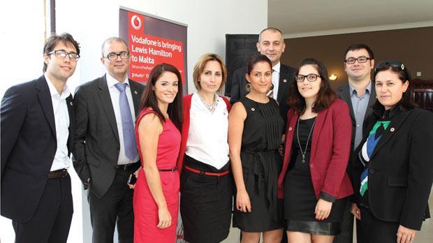 From left: Karl Galea, Sandro Pisani, Miriam Dalli, Sharon Craig, Daniela Abela, Joseph Cuschieri, Vanessa Marie Farrugia, Claude Muscat Doublesin and Caroline Farrugia.