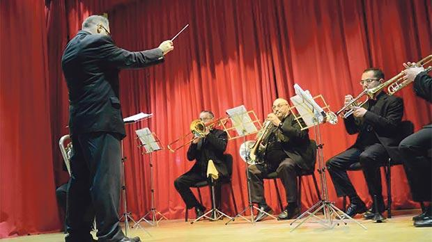 An eight-piece band is the star of tonight's Christmas concert in Mosta.