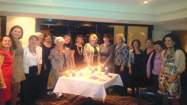 BPW Malta Members During The Candle Lighting Ceremony At Radisson Blu Resort