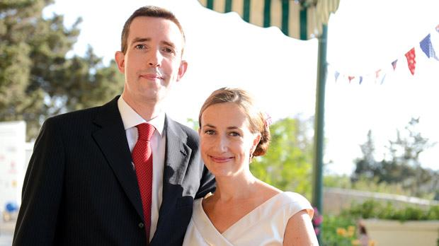 British High Commissioner Rob Luke and his wife Louise.