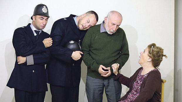 Farce by renowned scottish playwright in maltese for Farcical black comedy