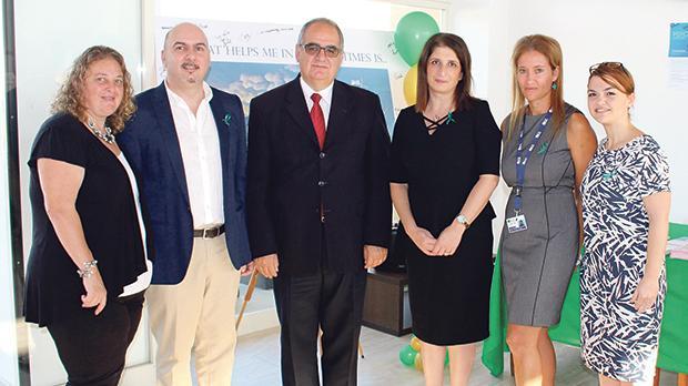 Carmen Cefai, Laner Cassar, John Cachia, Nadine Delicata, Pamela Portelli and Maria Grech Debono.