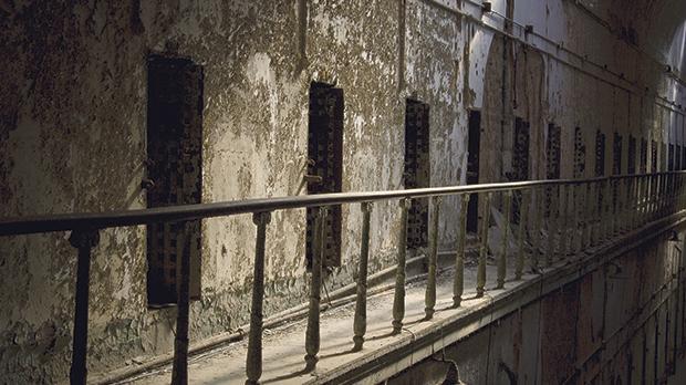 haunted prison walk