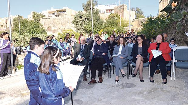 HSBC's Water Programme was present at Unesco's Community Outreach activity in Xagħra Square.