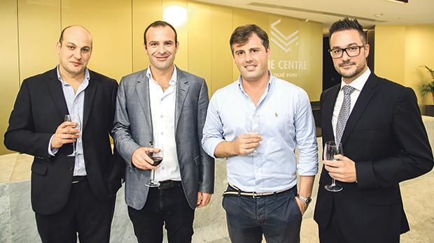 Stefan Deguara, Mark Gasan, Ehsan Tabrizi and Ian Genuis.