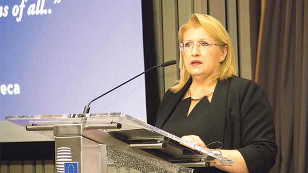 President Marie-Louise Coleiro Preca. Photo provided by the Office of the President