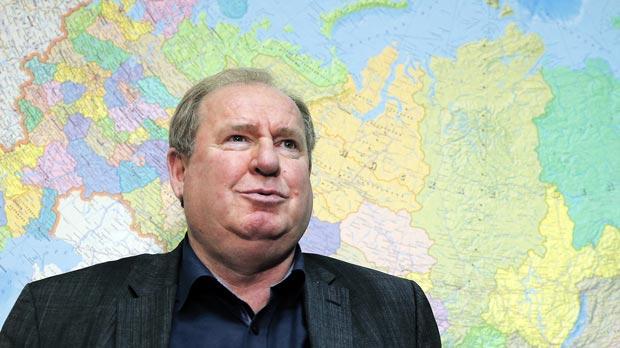 Vadim Zelichenok, head of the Russian Athletics Federation.