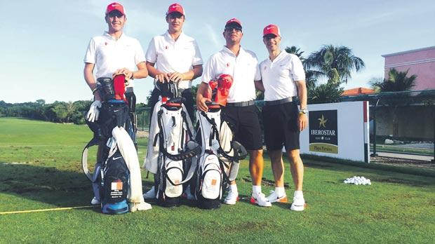 The four-strong Malta team taking part in the World Team Amateur Championships.