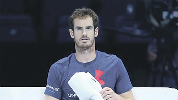 Andy Murray – world no. 1.