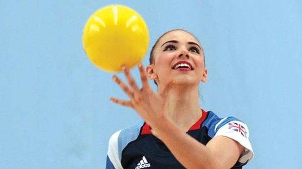 Georgina Cassar... threefold support at the London Games.