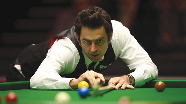 Ronnie O'Sullivan... set to share passion for snooker with a new audience.