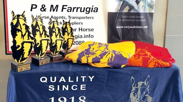 The owners of the winning horses in Sunday's three Autumn condition finals will receive trophies and commemorative blankets.