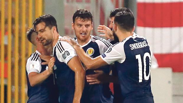 The Scottish national team have not played in the World Cup finals since 1998.