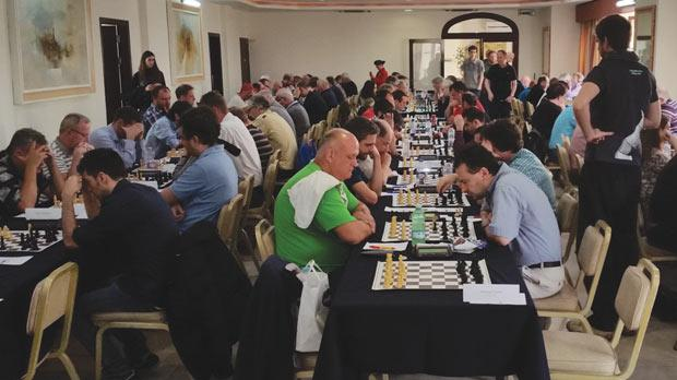 Some of the players taking part in the Malta Open.