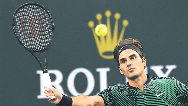 Roger Federer will be up against Nick Kyrgios, of Australia, at the IndianWells.